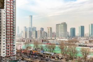 China Sunshine Apartment Guomao, Apartments  Beijing - big - 24