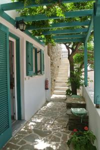 Meltemi Andros Greece