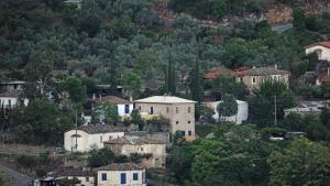 The old olive mill house Achaia Greece