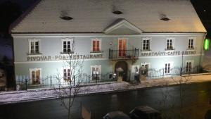 Penzion - Pivovar Groll