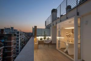 Penthouse with a panoramic rooftop in Trastevere - abcRoma.com