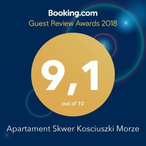 Apartament Skwer Kosciuszki Morze