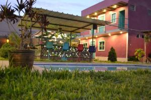 The Upcycled Hostel Huacachina