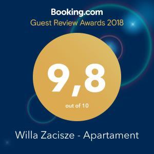 Willa Zacisze Apartament