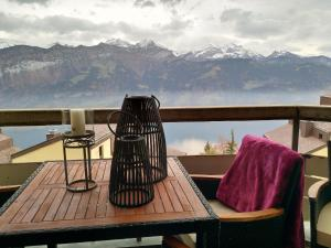 Swiss Seeblick Apartment mit Hotelanbindung - Beatenberg