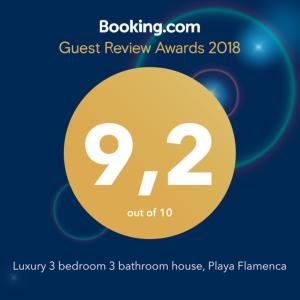 Luxury 3 bedroom 3 bathroom house, Playa Flamenca, Ferienhäuser  Playa Flamenca - big - 36