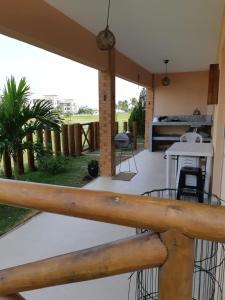 Apartamento Villa das Águas, Apartmány  Estância - big - 42
