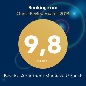 Basilica Apartment Mariacka Gdansk