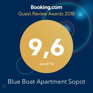 Blue Boat Apartment Sopot