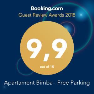 Apartament Bimba Free Parking