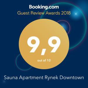 Sauna Apartment Rynek Downtown z parkingiem