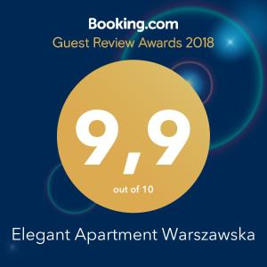 Elegant Apartment Warszawska