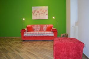 Parravicini Red Flower apartment - AbcAlberghi.com
