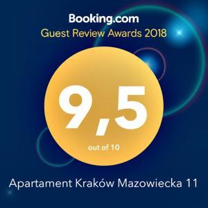 Apartament Kraków Mazowiecka 11