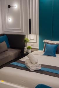 Sokratis Hotel, Hotely  Nea Moudania - big - 17