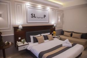 Sokratis Hotel, Hotely  Nea Moudania - big - 46