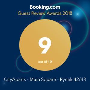CityApartsPrivate Apt Main Sqr Rynek Self checkin