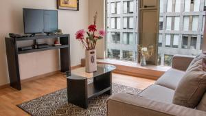 Puerta Alameda Suites, Apartmány  Mexiko - big - 131