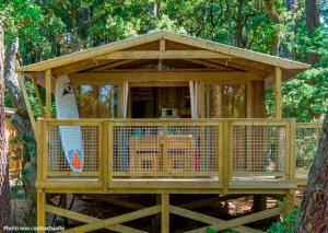 Location gîte, chambres d'hotes Camping L'Airial dans le département Landes 40