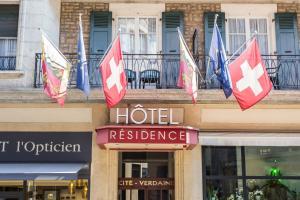 emblème de l'établissement Hôtel Résidence Cité-Verdaine