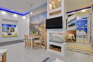 Luxury Yacht Boat with Huge Terrace in Neptun Park