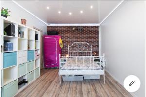 Cosy Room with Brick Wall - Brattsevo