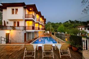 Summer Hotel, Hotels  Akyaka - big - 20