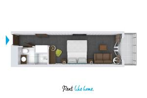 Hotel Room 203 by Rent like home