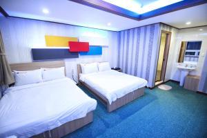 Tongyeong Tourist Hotel, Szállodák  Thongjong - big - 41