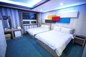 Tongyeong Tourist Hotel, Szállodák  Thongjong - big - 38