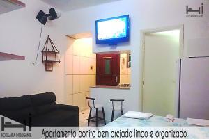 Hi Abaete Studios, Apartmány  Mongaguá - big - 16