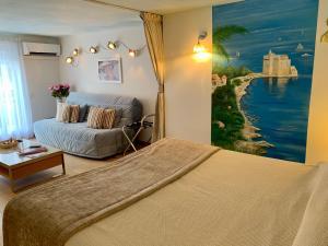 Résidence La Loggia, Apartmány  Cannes - big - 64