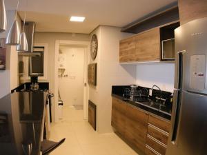 Aptos de Luxo Centro Gramado (Via Florida), Апартаменты  Грамаду - big - 53