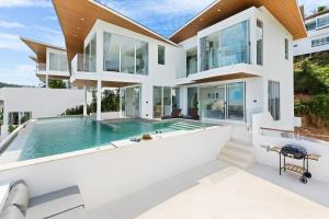 4BR-Ocean Views & Private Pool Villa High Ark