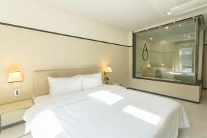 Brown-Dot Hotel Guseo, Hotels  Busan - big - 95