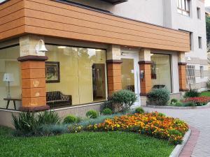 Aptos de Luxo Centro Gramado (Via Florida), Апартаменты  Грамаду - big - 43
