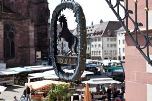 Hotel Rappen am Münsterplatz, Hotely  Freiburg im Breisgau - big - 66