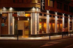 Hotel Gran Via, Szállodák  Zaragoza - big - 36