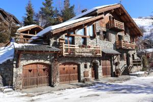 Appartement cosy pour 4 personnes en chalet de pierres - Hotel - Saint Martin de Belleville