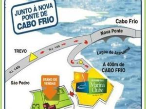 Apartamento com clube privativo, Apartmány  Cabo Frio - big - 13