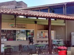 Apartamento com clube privativo, Apartmány  Cabo Frio - big - 45