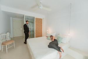 The Saint Vlassis, Hotels  Naxos Chora - big - 72