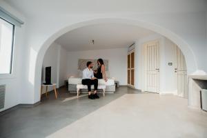 The Saint Vlassis, Hotels  Naxos Chora - big - 64