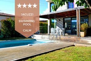 Superb contemporary villa with swimming pool - La Roquette-sur-Siagne