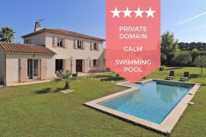 ❤️ Villa avec piscine dans domaine privé au calme absolu ❤️ 15 min plages ! - Auribeau-sur-Siagne