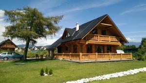 Pensiune Rekreačný zrubový dom Liptovský Trnovec Slovacia