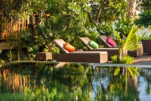 Dhevatara Beach Hotel, Szállodák  Grand'Anse Praslin - big - 61