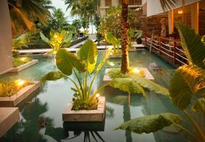 Dhevatara Beach Hotel, Szállodák  Grand'Anse Praslin - big - 17