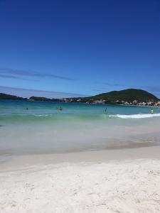 Apto Frente Mar Ponta das Canas, Ferienwohnungen  Florianópolis - big - 8