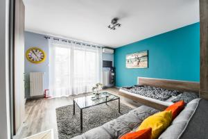 Studio with aircon and balcony - Budapest